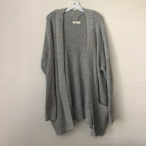 Hollister Open Front Cardigan